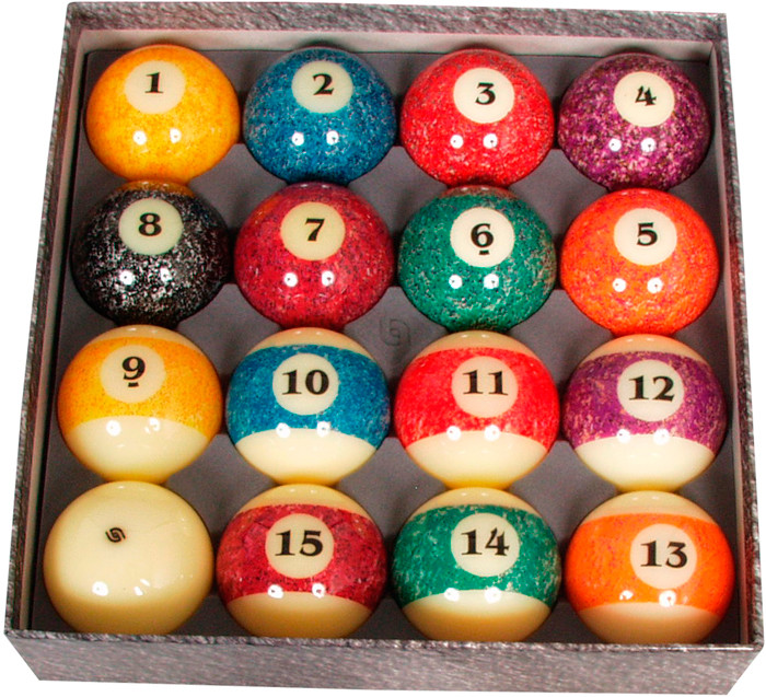 Pool ballen set Aramith 57.2mm Stone collection