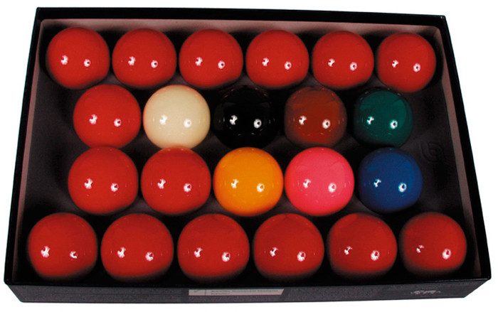 Snooker ballen set Polyester 52.4mm